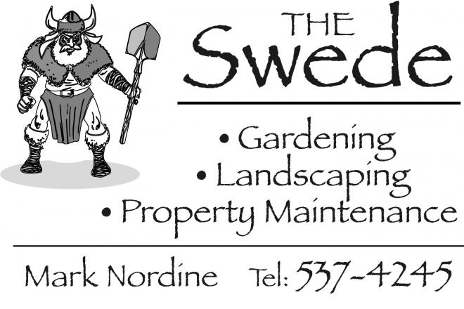 Salt Spring Gardening & Landscaping Service Logo